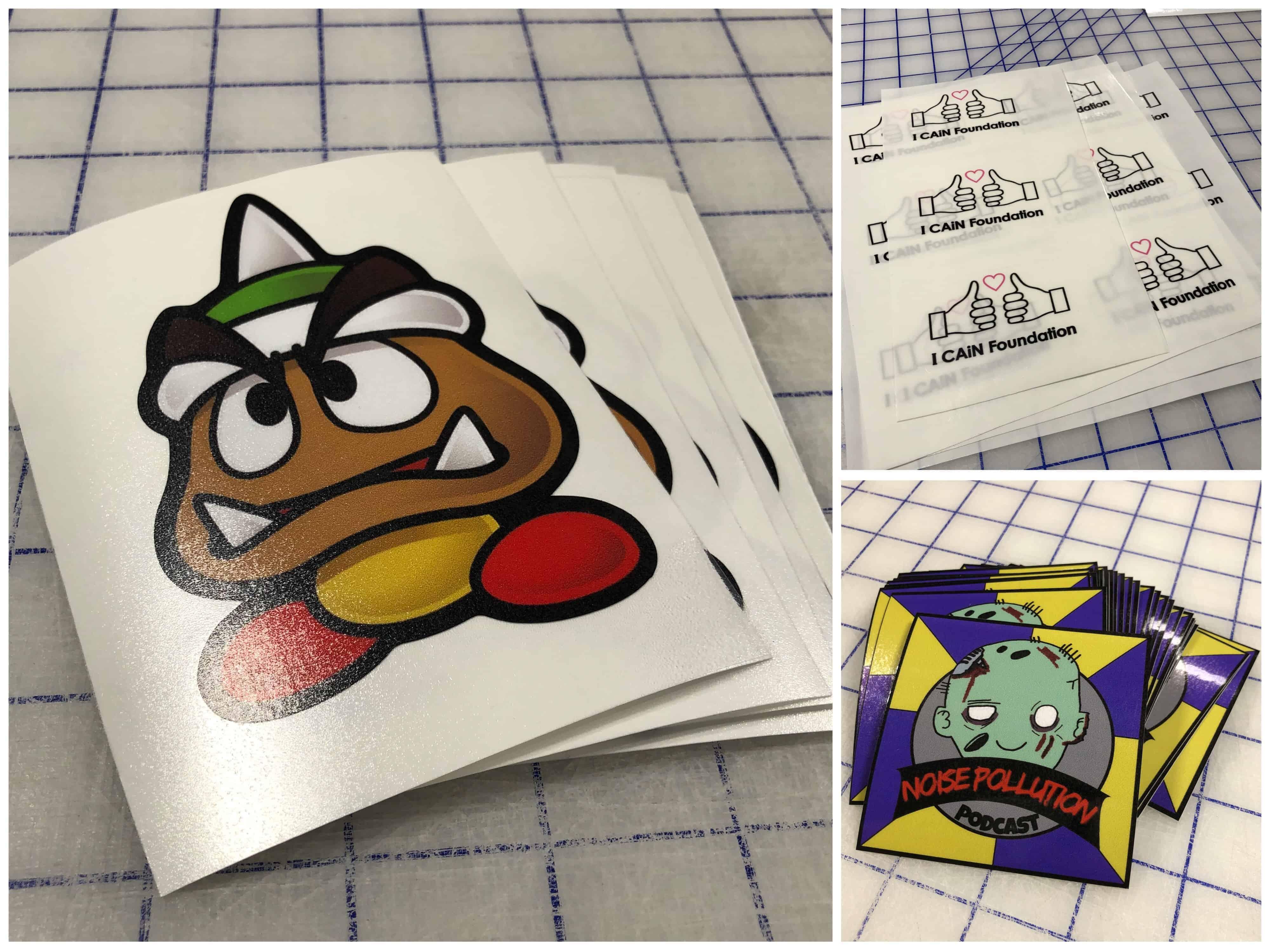 Custom stickers full color vinyl stickers york pa elephat printing