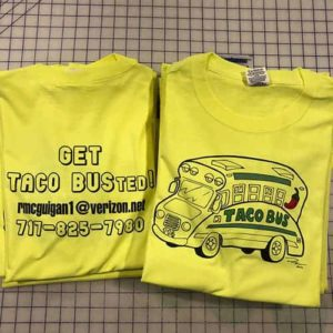 Light Transfer Paper - Safety Green