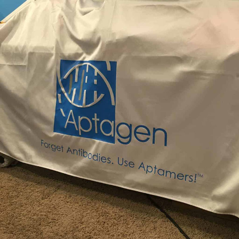 Aptagen tablecloth