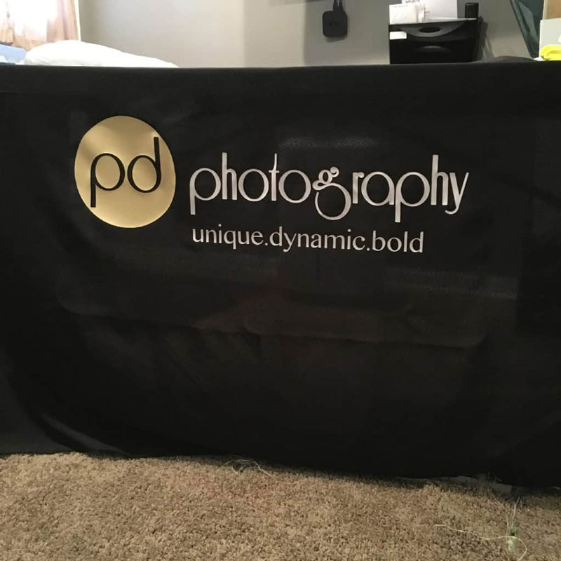 pd photography tablecloth
