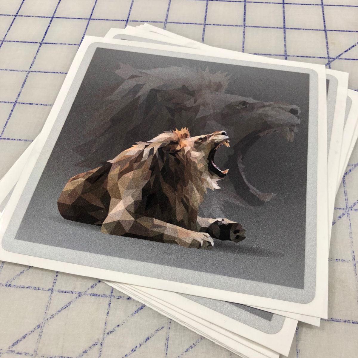reflective-3M-lion